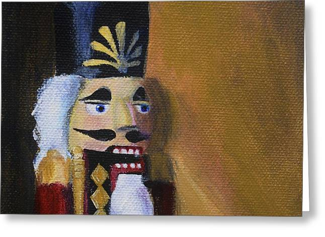 Nutcracker II Greeting Card by Donna Tuten