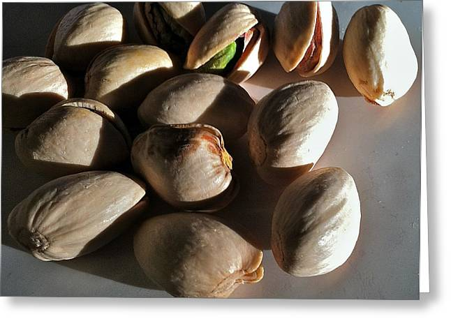 Nuts Greeting Card by Bill Owen
