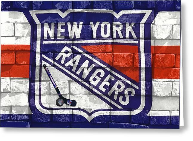 Ny Rangers-2 Greeting Card by Nina Bradica