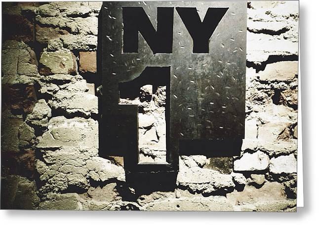 NY1 Greeting Card