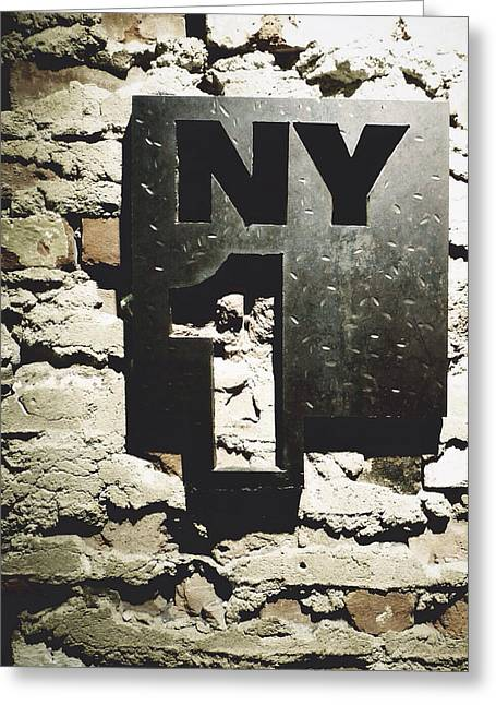 NY1 Greeting Card by Natasha Marco
