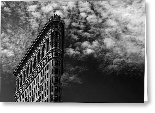 Nyc, Flatiron Greeting Card