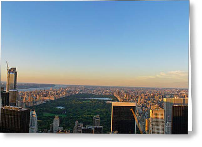Nyc Panorama Greeting Card
