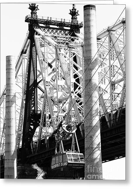 Nyc Queensboro Bridge Greeting Card by Robert Yaeger