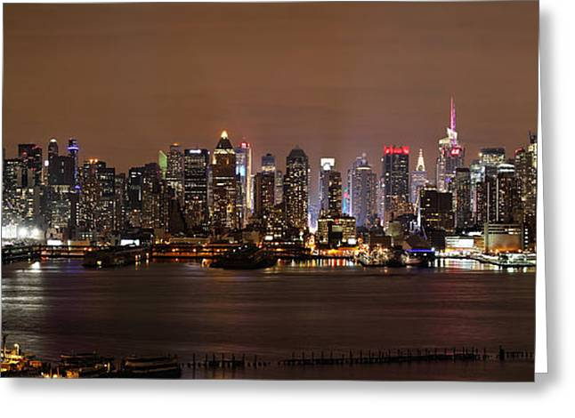 Nyc Skyline Greeting Card