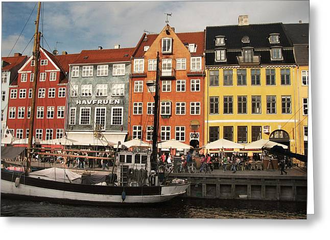Nyhavn Greeting Card