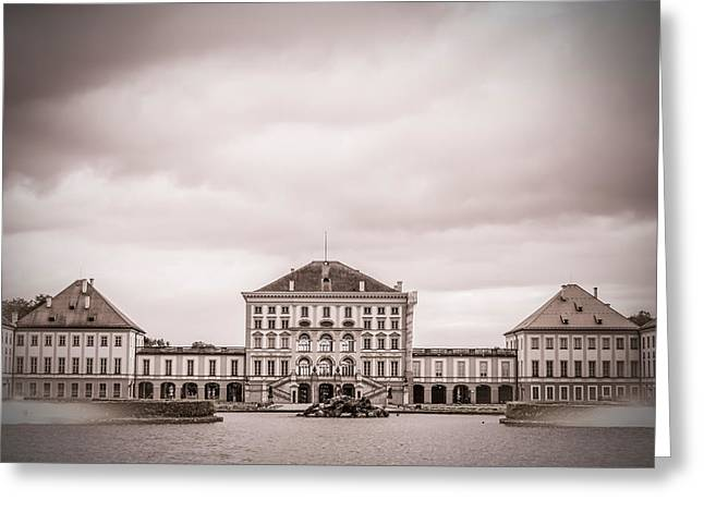 Nymphenburg Palace Greeting Card by Mr Doomits