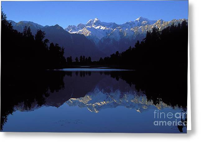 New Zealand Alps Greeting Card