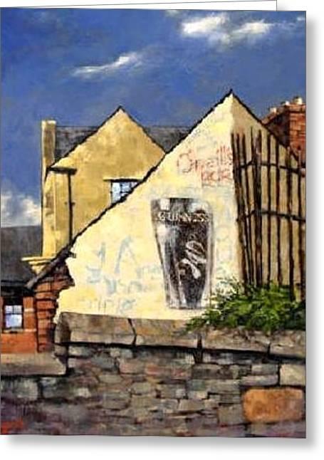 O Neils Bar Londonderry  Greeting Card