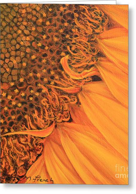 O Sunflower Greeting Card