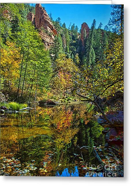 Oak Creek Beauty Greeting Card