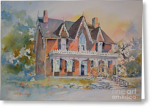Oak Hill Cottage Greeting Card