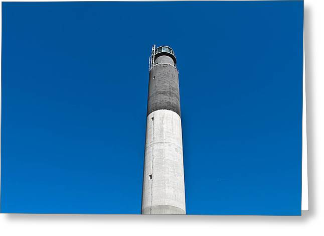 Oak Island Light Greeting Card