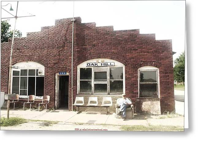 Oakhill Kansas Downtown Greeting Card