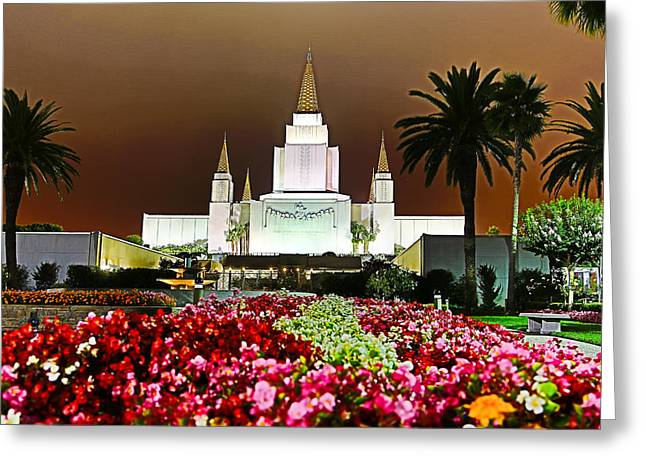 Oakland Temple 1 Greeting Card