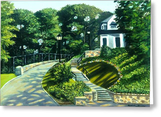 Oakridge In Forest Park Greeting Card