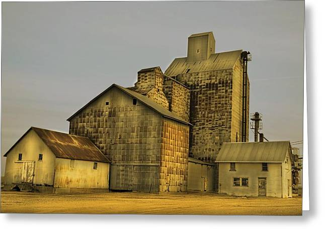 Oakwood Elevator Greeting Card
