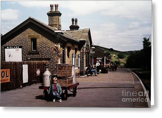 Oakworth Station Greeting Card