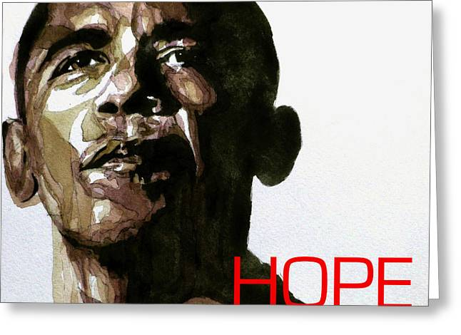 Obama Hope Greeting Card