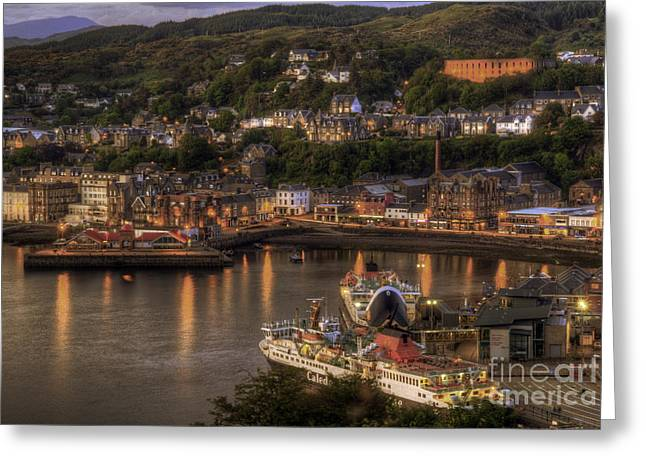 Oban Promenade Greeting Card