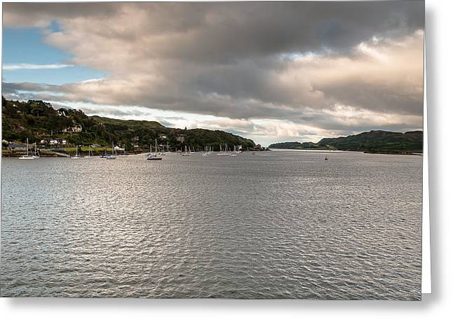 Greeting Card featuring the photograph Oban's Lagoon by Sergey Simanovsky