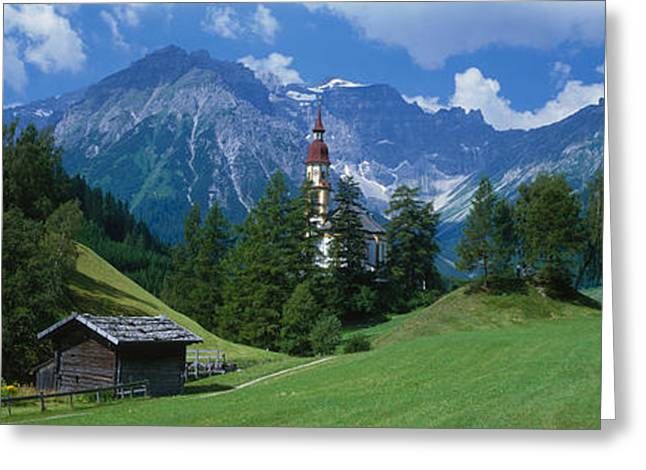 Oberndorf Tirol Austria Greeting Card by Panoramic Images