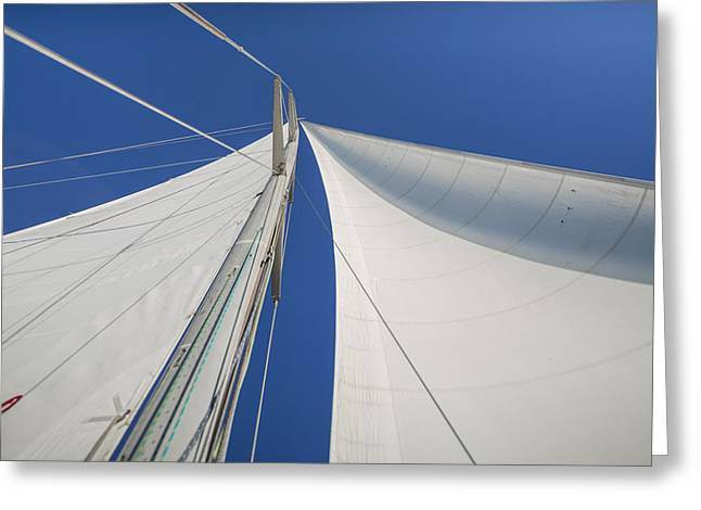 Obsession Sails 1 Greeting Card