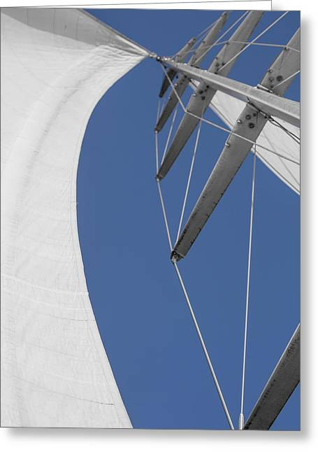Obsession Sails 9 Greeting Card by Scott Campbell