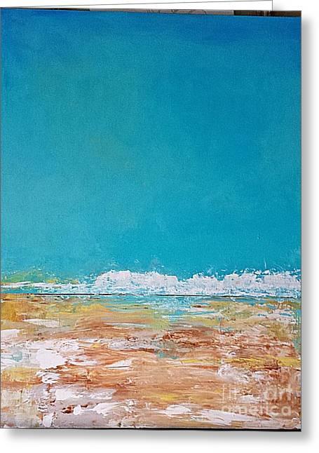 Ocean 2 Greeting Card by Diana Bursztein