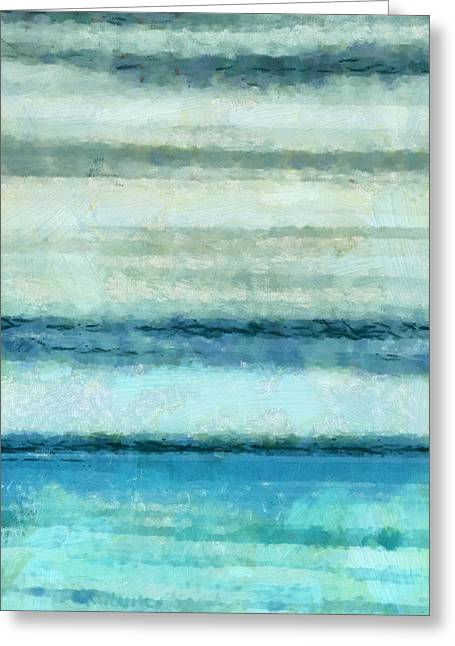 Ocean 4 Greeting Card by Angelina Vick