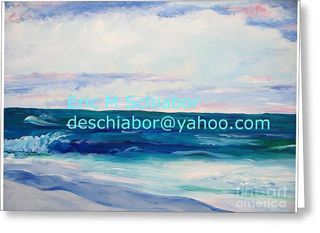 Ocean Assateague Virginia Greeting Card by Eric  Schiabor