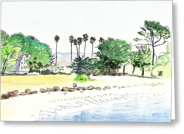 Ocean Beach Greeting Card