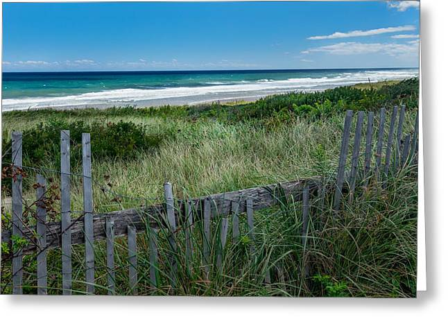 Ocean Blues Greeting Card by Bill Wakeley