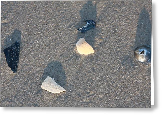 Ocean City Beach Greeting Card by Vadim Levin