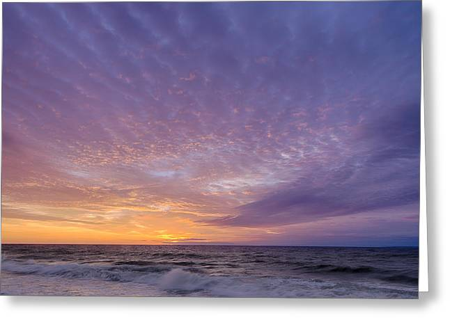 Ocean City Maryland Sunrise Hdr Greeting Card