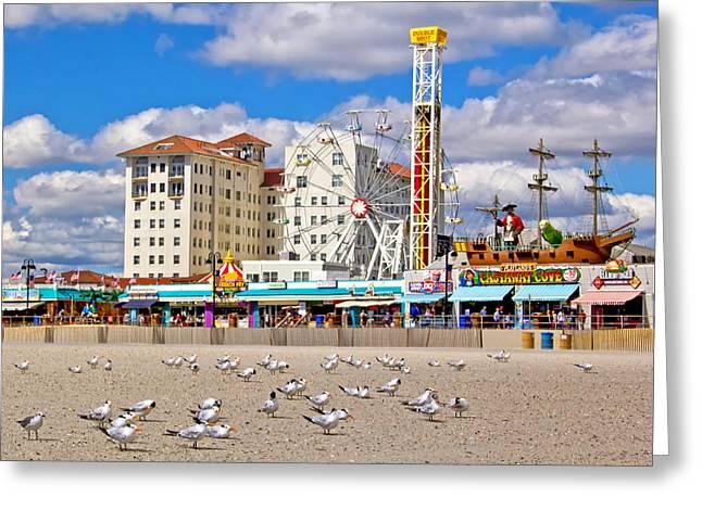 Ocean City View Greeting Card