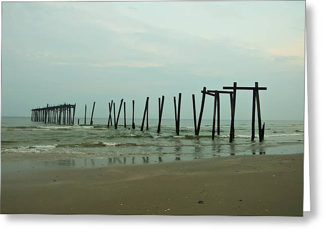 Ocean City's 59th Street Pier Greeting Card by Bill Cannon