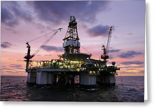 Ocean Endeavor At Sunrise Greeting Card