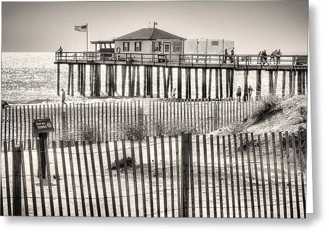 Ocean Grove Fishing Club Greeting Card