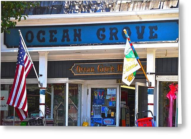 Ocean Grove Hardware Greeting Card