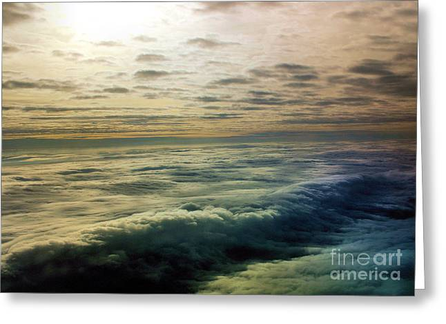 Ocean In The Sky Greeting Card