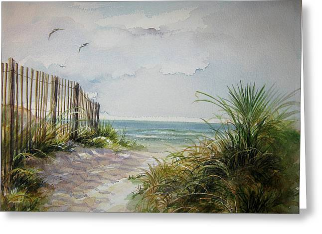 Ocean Isle Beach Sold Greeting Card