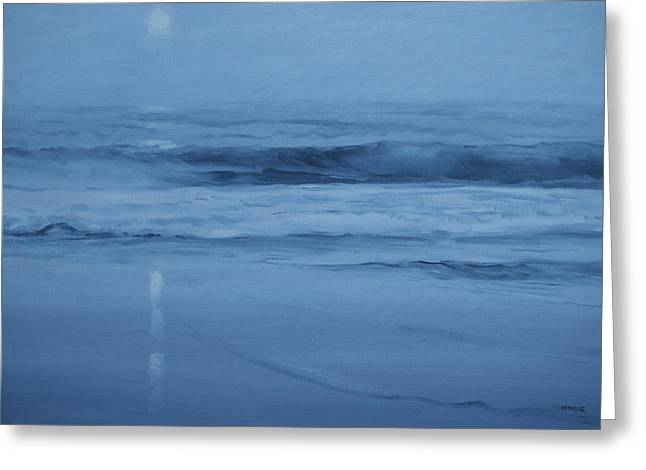 Ocean Nocturne Greeting Card
