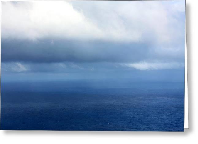 Ocean Of Existence Greeting Card by Karon Melillo DeVega