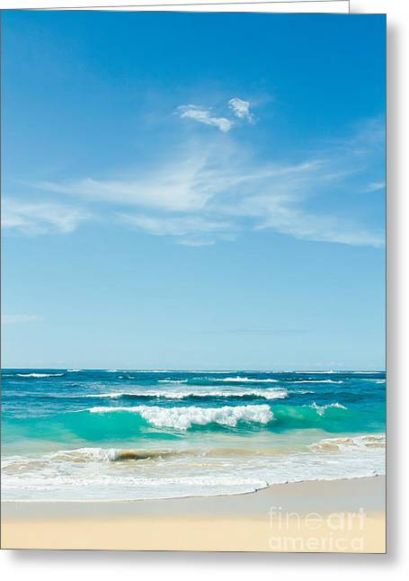 Greeting Card featuring the photograph Ocean Of Joy by Sharon Mau