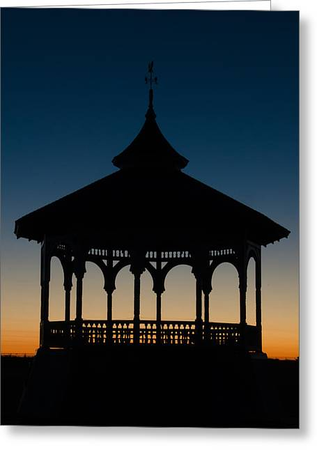 Ocean Park Gazebo Greeting Card
