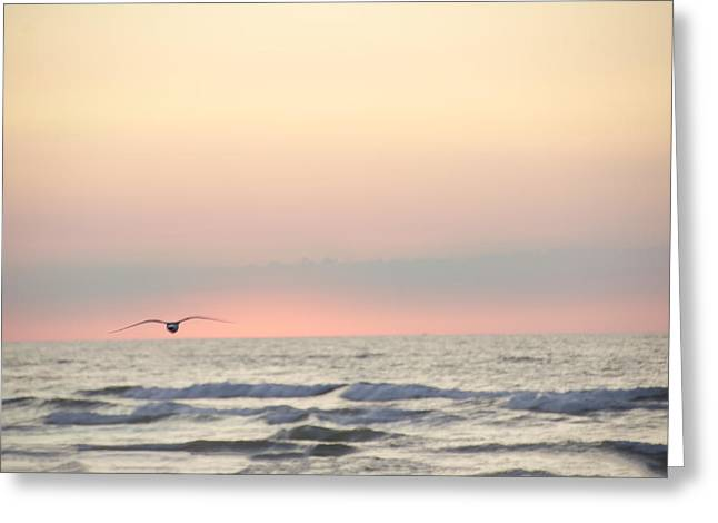 Ocean Scene Greeting Card by Bill Cannon