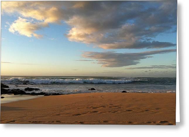 Ocean Serenity Greeting Card
