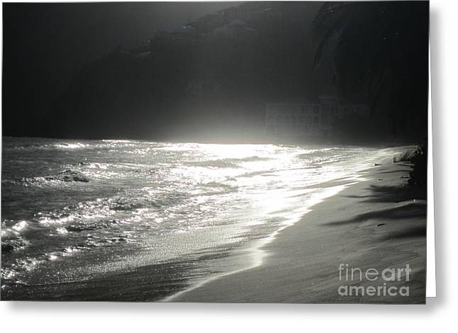 Greeting Card featuring the photograph Ocean Smile by Fiona Kennard