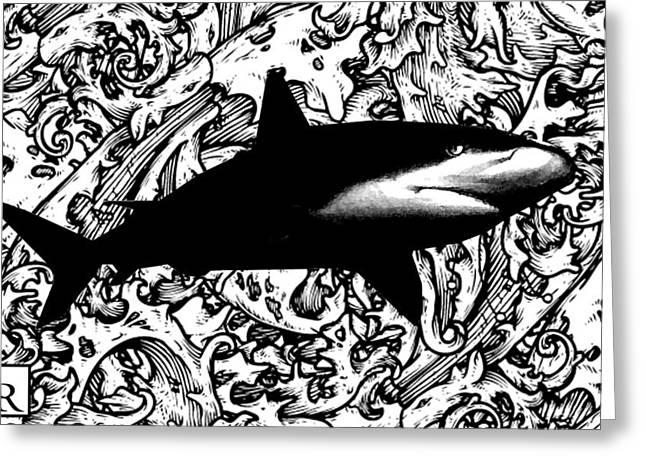 Ocean Surveyor - Prints By Robert Rodriguez Artist Greeting Card
